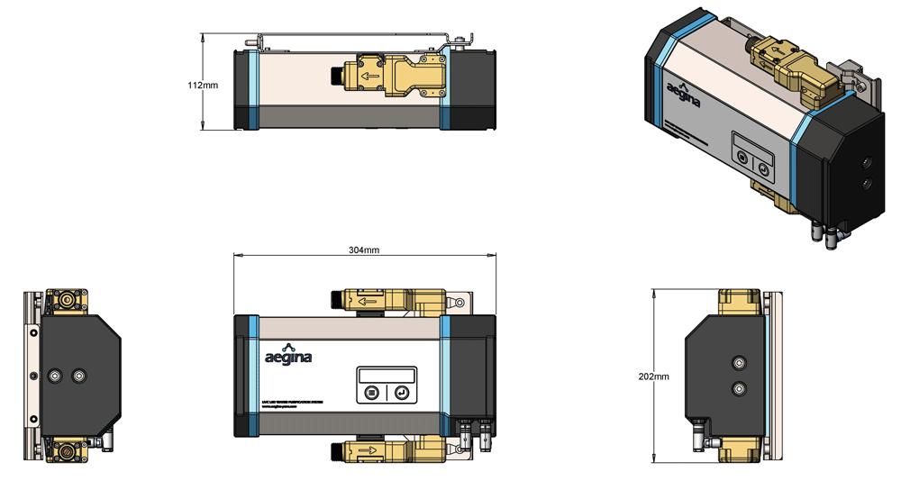 Aegina Product Diagram 3 Litres per minute