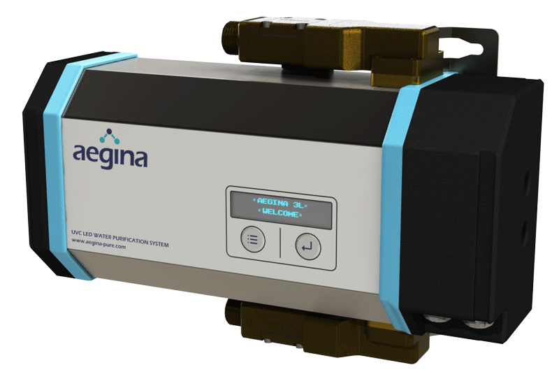 Aegina-pure UVC LED water purifier product photo