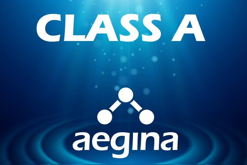 Class A LED water purification classification for Aegina