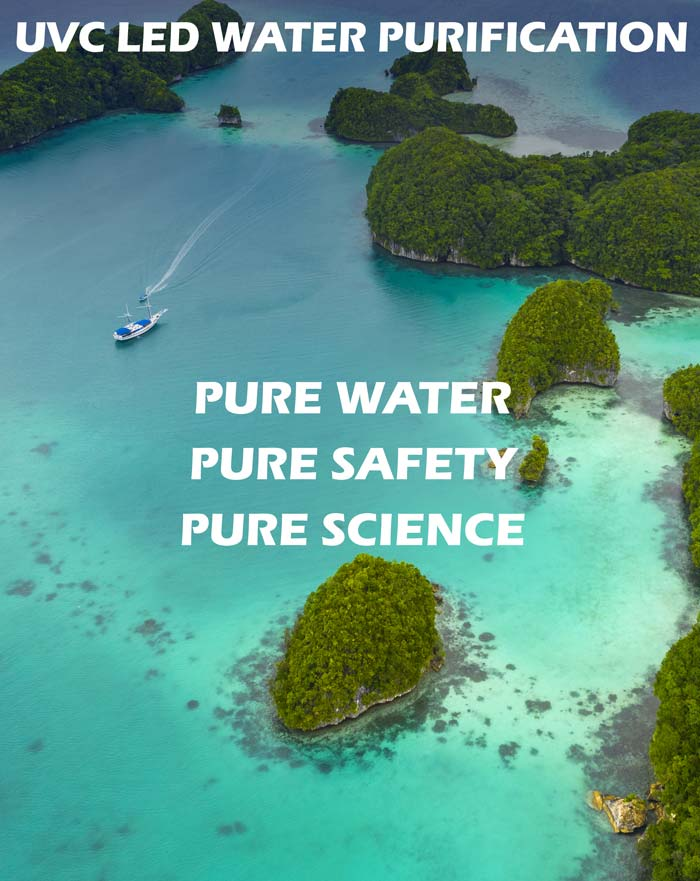 Aegina - UVC LED Water Purification Pure water, Pure-Safety, Pure Science