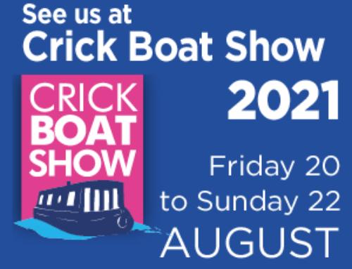 Aegina's debut at the Crick Boat Show